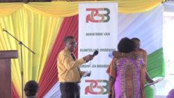 Meer dan 600 grondbeschikkingen uitgereikt in Nickerie en Coronie
